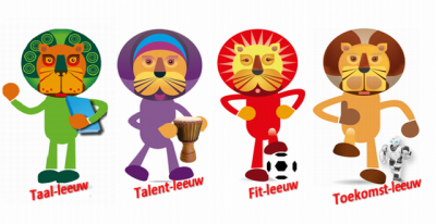 de 4 leeuwen